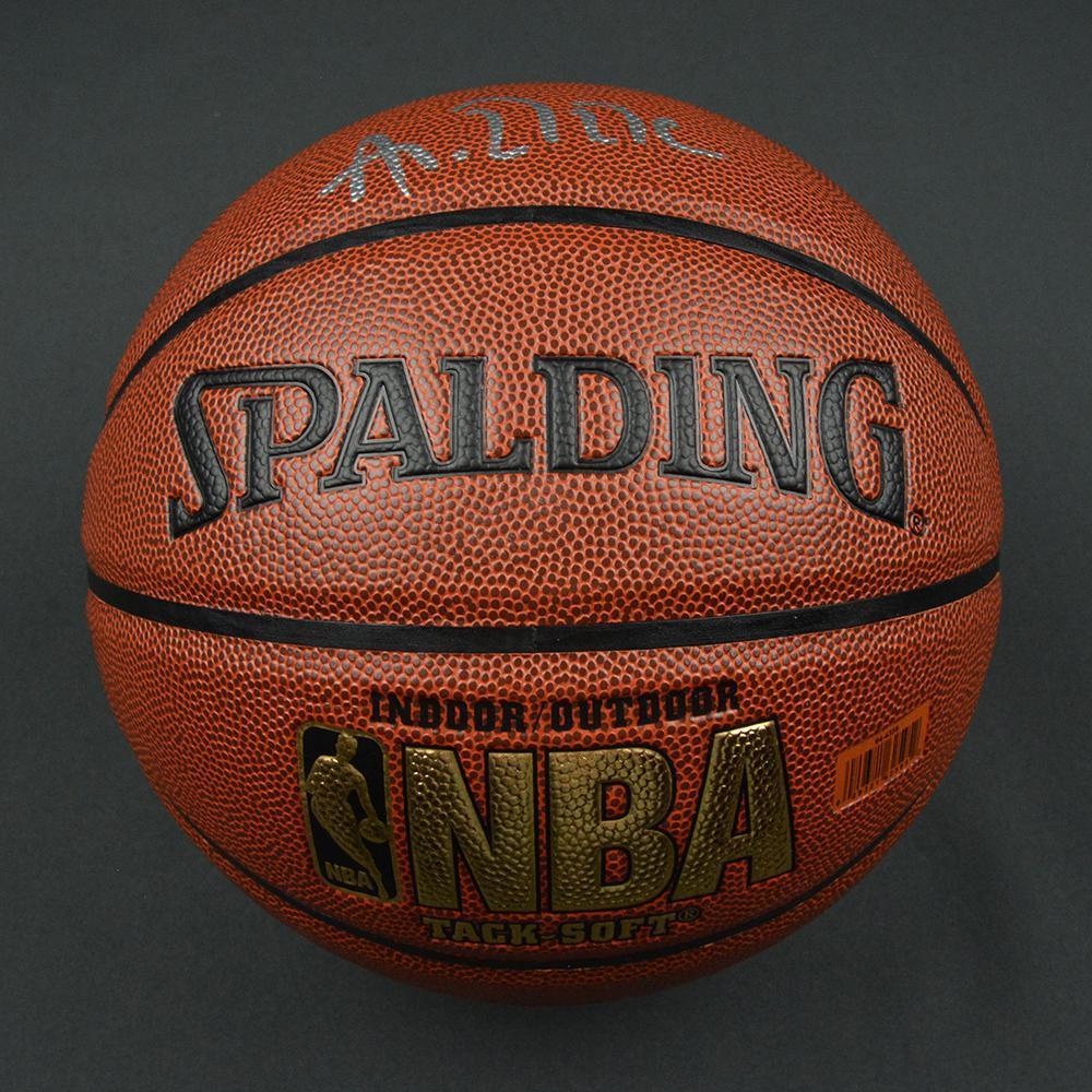 Ante Zizic - Boston Celtics - 2017 NBA Draft - Autographed Basketball