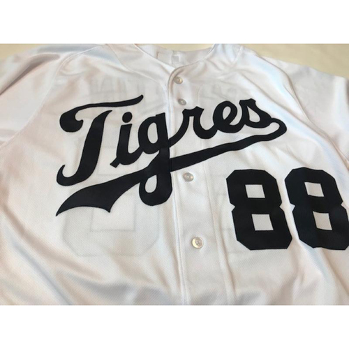 Photo of Game-Used Matt Martin Fiesta Tigres Jersey