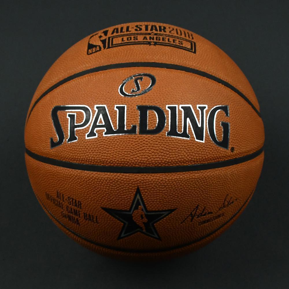 NBA All-Star 2018 Mtn Dew Kickstart Rising Stars - Game-Used Basketball (1st Quarter )