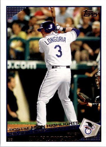 Photo of 2009 Topps #16 Evan Longoria HL