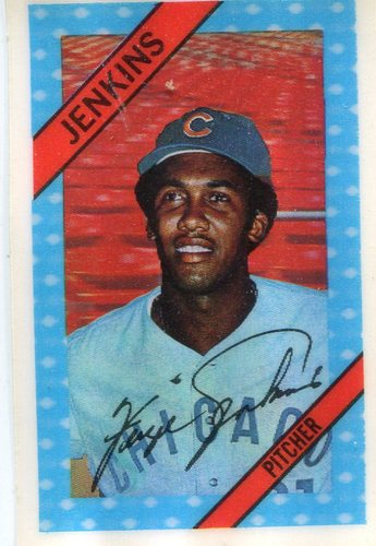 Photo of 1972 Kellogg's #8 Ferguson Jenkins -- Hall of Famer Cubs