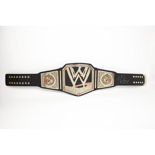 Daniel Bryan SIGNED WWE Championship Replica Title