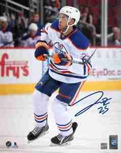 Darnell Nurse - Signed 8x10 Edmonton Oilers White Photo