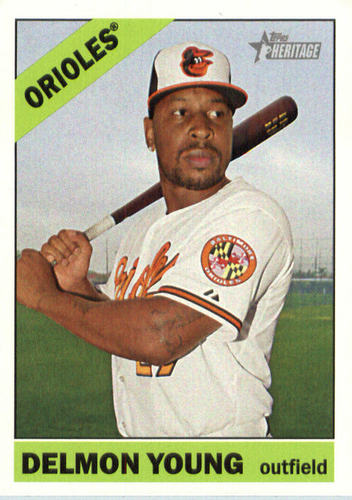 Photo of 2015 Topps Heritage #564 Delmon Young