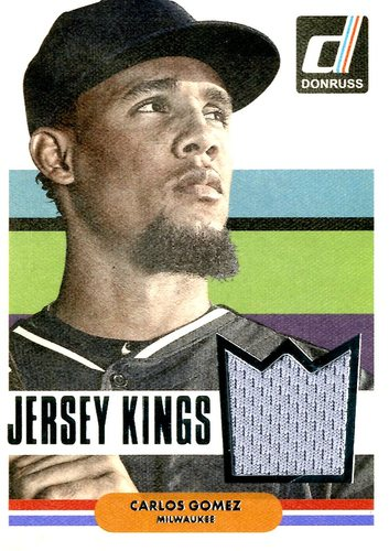 Photo of 2015 Donruss Jersey Kings #11 Carlos Gomez