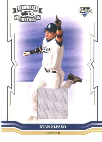 Photo of 2005 Throwback Threads Material Jersey #235 Ryan Klesko/250