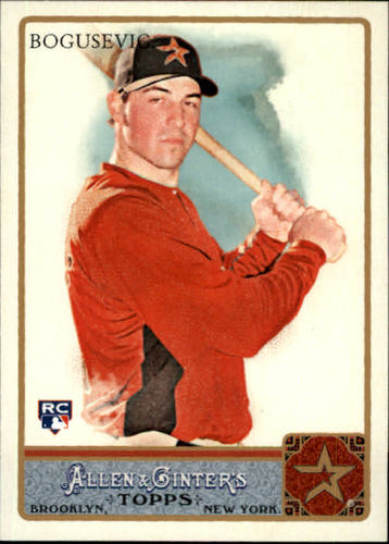 Photo of 2011 Topps Allen and Ginter #176 Brian Bogusevic (RC)