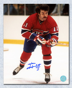 Yvon Lambert Montreal Canadiens Autographed 8x10 Photo