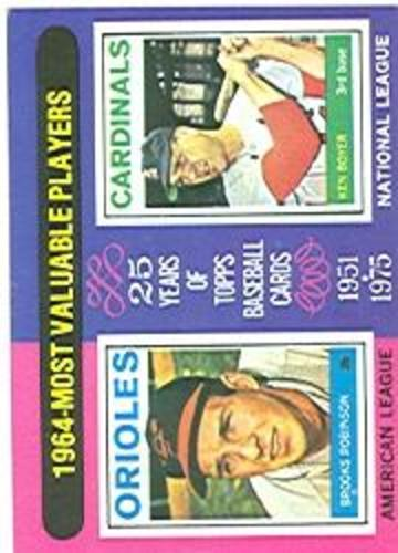 Photo of 1975 Topps #202 Brooks Robinson/Ken Boyer MVP