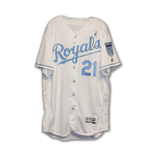 Photo of Dale Sveum Game-Used Fathers Day Jersey (6/19/16) (Size 48)