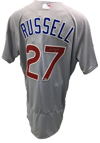 Photo of Addison Russell Autographed Jersey