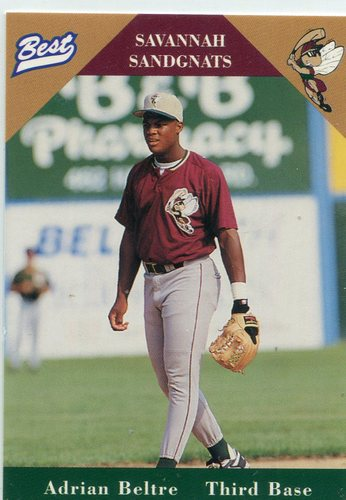 Photo of 1996 Savannah Sandgnats Best #2 Adrian Beltre