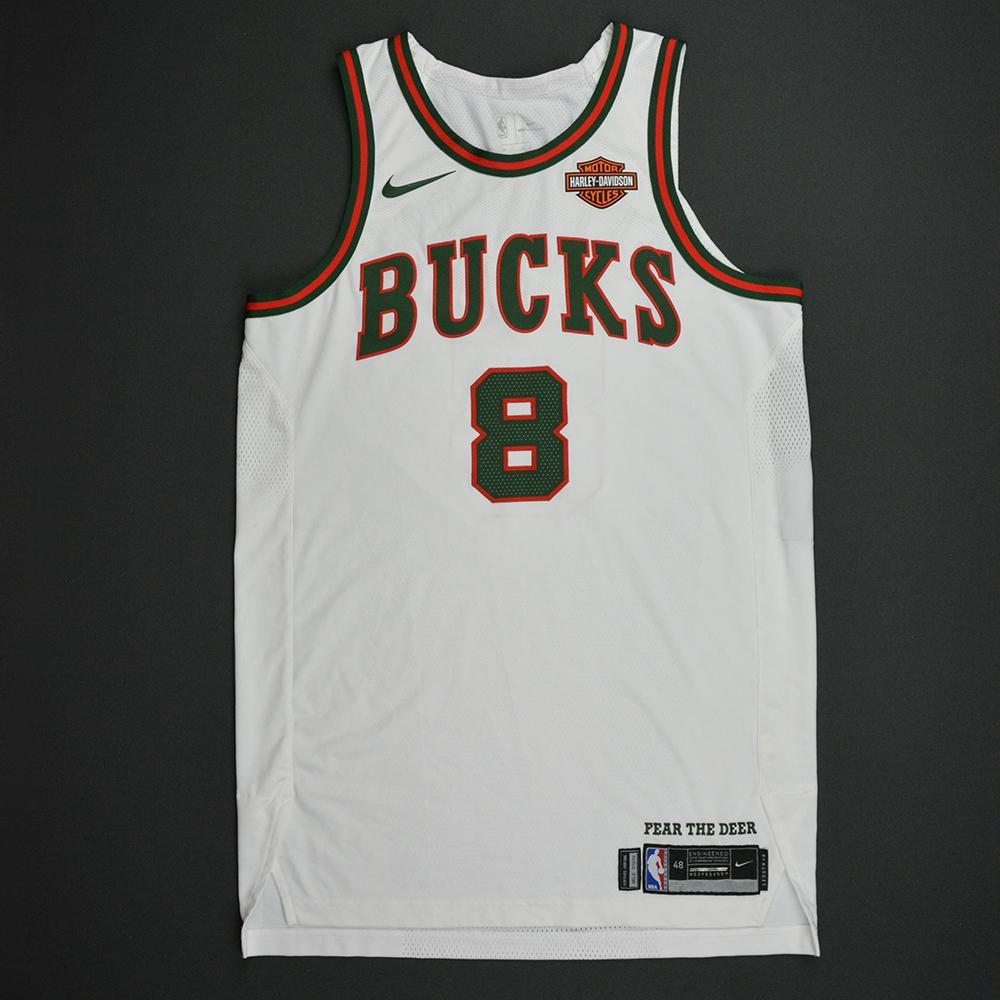 Matthew Dellavedova - Milwaukee Bucks - Hardwood Classics 1968-69 Home Style Game-Worn Jersey - 2017-18 Season
