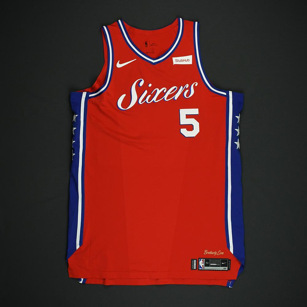 Amir Johnson - Philadelphia 76ers - NBA Christmas Day '17 'Statement' Game-Worn Jersey