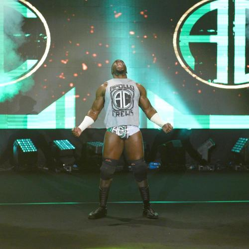 Photo of Apollo Crews WORN T-Shirt (NXT TakeOver: London - 12/16/15)