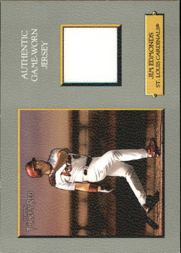 Photo of 2006 Topps Turkey Red Relics #JE Jim Edmonds Jsy C