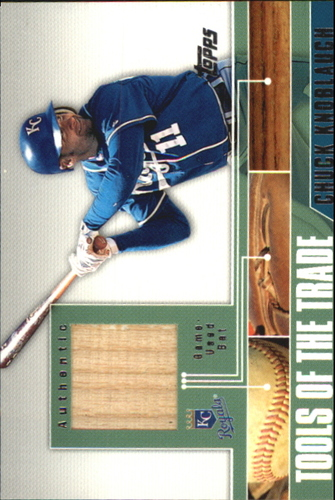 Photo of 2002 Topps Traded Tools of the Trade Relics #CK Chuck Knoblauch Bat C