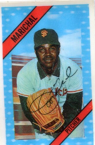 Photo of 1972 Kellogg's #47 Juan Marichal -- Hall of Famer Giants