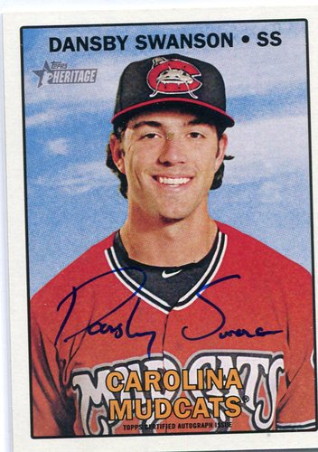 Photo of 2016 Topps Heritage Minors Real One Autographs Dansby Swanson