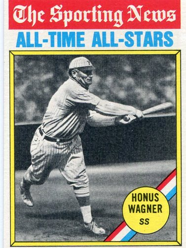 Photo of 1976 Topps #344 Honus Wagner All Time Great