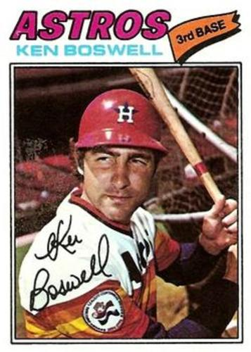 Photo of 1977 Topps #429 Ken Boswell