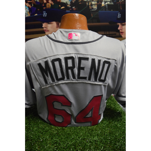 Photo of Game-Used Mother's Day Jersey: Diego Moreno
