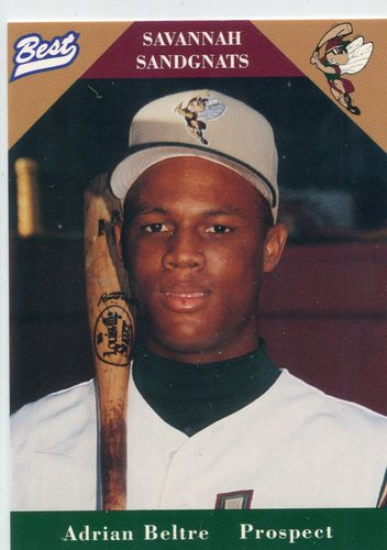 Photo of 1996 Savannah Sandgnats Best #30 Adrian Beltre