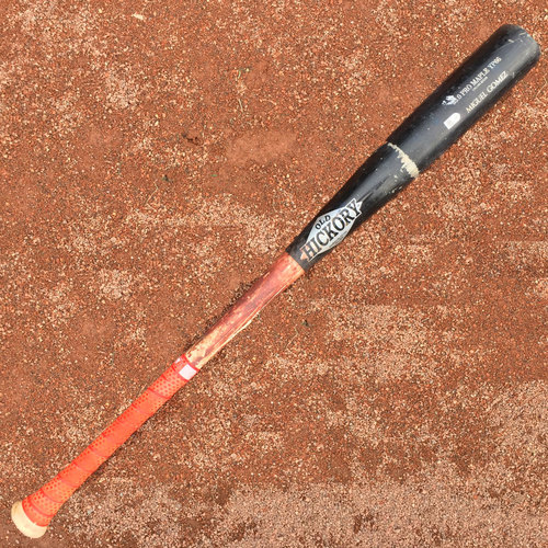 San Francisco Giants - Game-Used Broken Bat - Miguel Gomez