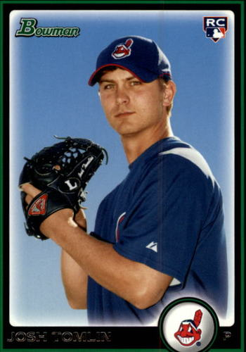 Photo of 2010 Bowman Draft #BDP76 Josh Tomlin Rookie Card -- Indians post-season