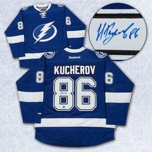 Nikita Kucherov Tampa Bay Lightning Autographed Reebok Premier Jersey