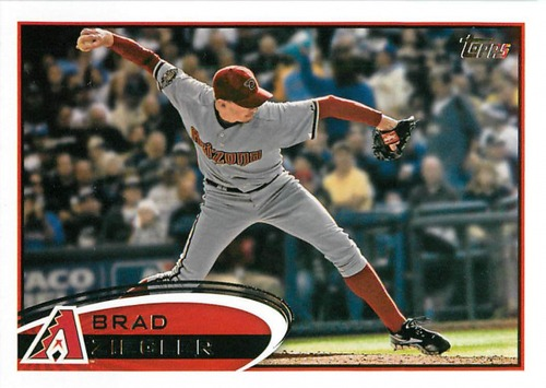 Photo of 2012 Topps Update #US176 Brad Ziegler