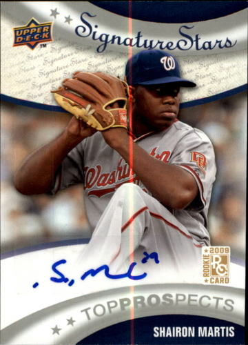 Photo of 2009 Upper Deck Signature Stars #194 Shairon Martis AU RC