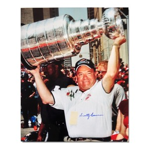 Scotty Bowman Autographed Detroit Red Wings 16x20 Photo