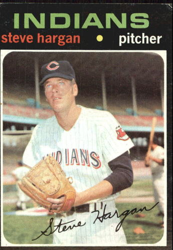 Photo of 1971 Topps #375 Steve Hargan