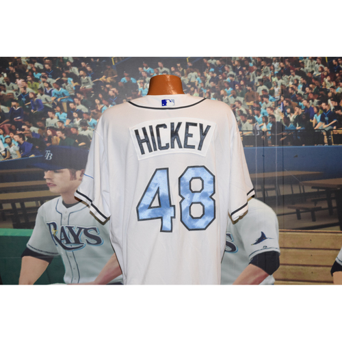 Photo of Game-Used Father's Day Jersey: Jim Hickey