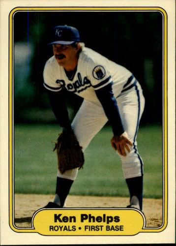 Photo of 1982 Fleer #420 Ken Phelps