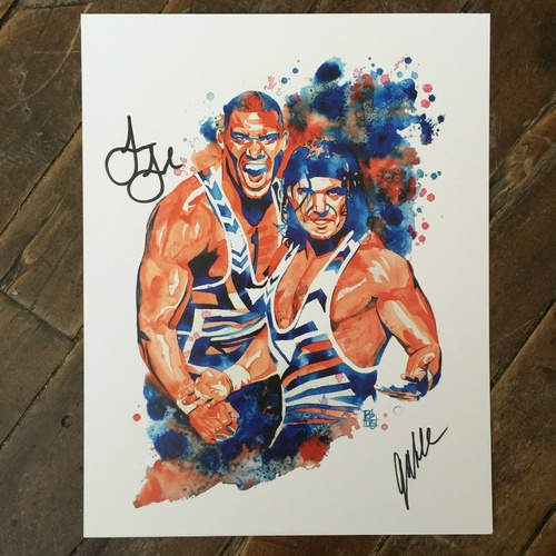 American Alpha SIGNED 11 x 14 Rob Schamberger Print