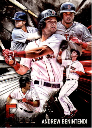 Photo of 2017 Topps Five Tool #5T49 Andrew Benintendi