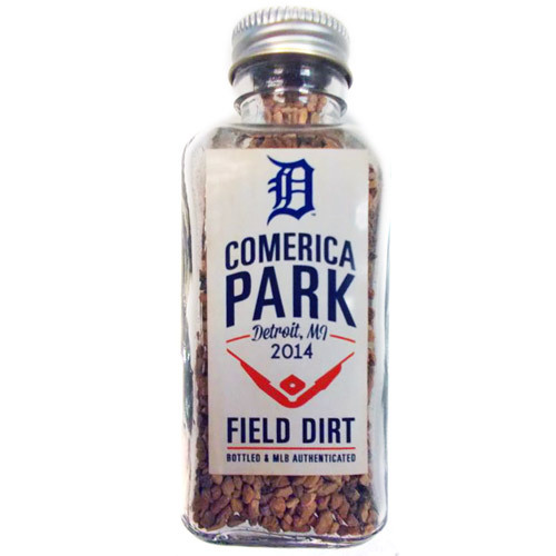 Photo of Detroit Tigers Bottled Dirt from Comerica Park
