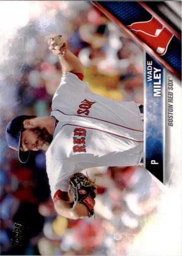 Photo of 2016 Topps #301 Wade Miley
