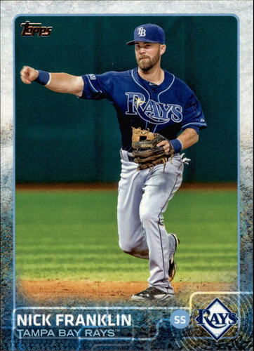 Photo of 2015 Topps #446 Nick Franklin