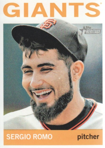 Photo of 2013 Topps Heritage #253 Sergio Romo