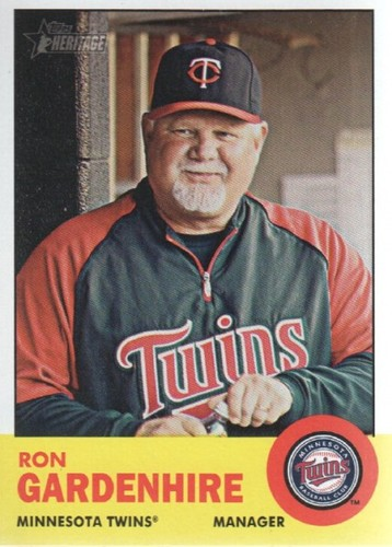 Photo of 2012 Topps Heritage #125 Ron Gardenhire MG