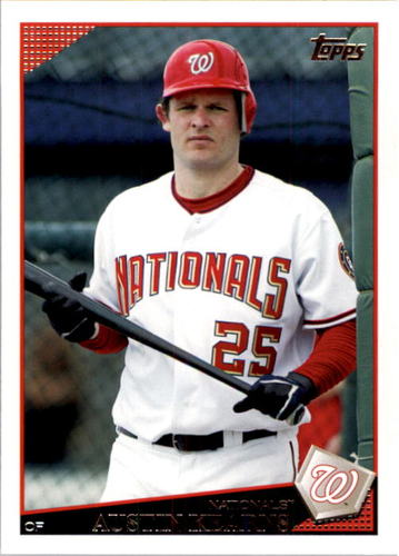 Photo of 2009 Topps #437 Austin Kearns