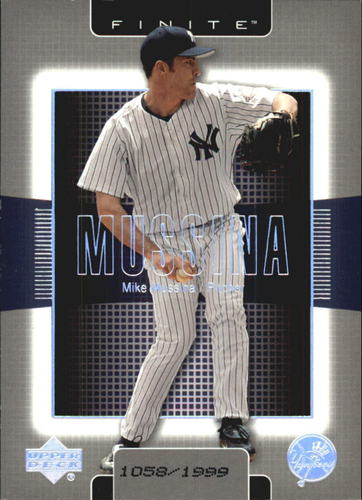 Photo of 2003 Upper Deck Finite #63 Mike Mussina
