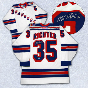 Mike Richter New York Rangers Autographed 1994 Stanley Cup Retro CCM Jersey