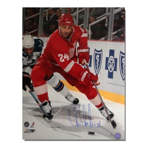Chris Chelios Autographed Detroit Red Wings 16x20 Photo
