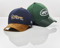 ALS - JETS MATT FORTE SIGNED JETS NEW ERA CAP SET (TWO FITTED CAPS SIZE MED-LARGE)