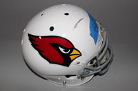 Cardinals - Jermaine Gresham game worn Cardinals helmet
