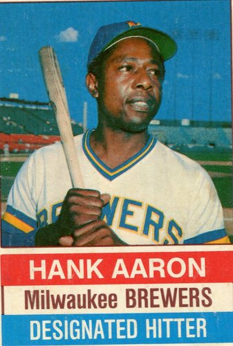 Photo of 1976 Hostess #94 Hank Aaron